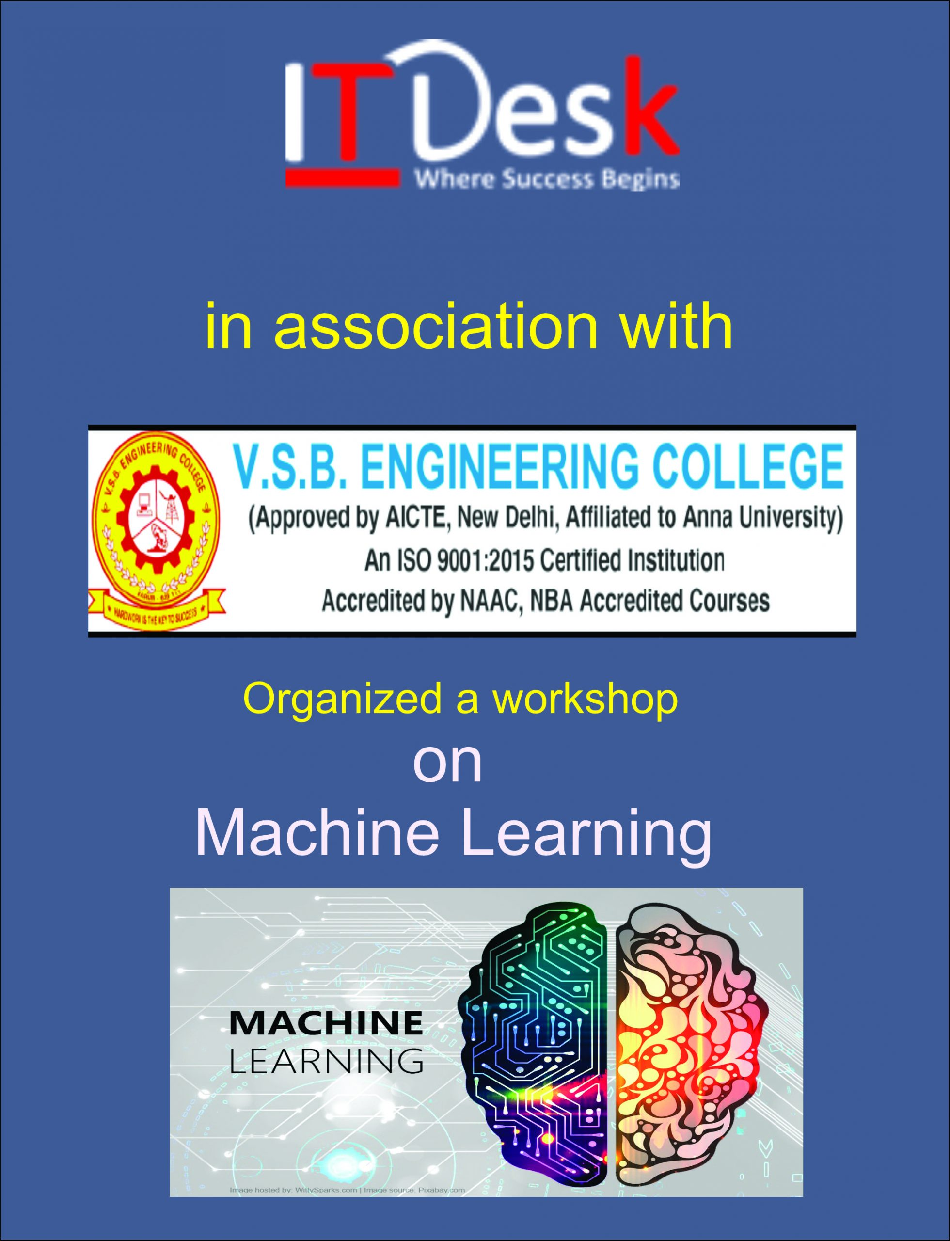 Successfully Conducted Paid Workshop on Machine Learning